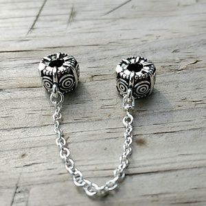 Punkie's Sterling Silver Safety Chain
